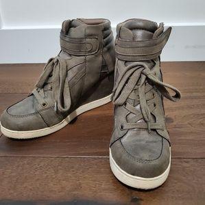 Candie's Wedge Sneakers